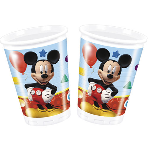 Mickey Mouse Clubhuis Plastic Beker 200Ml