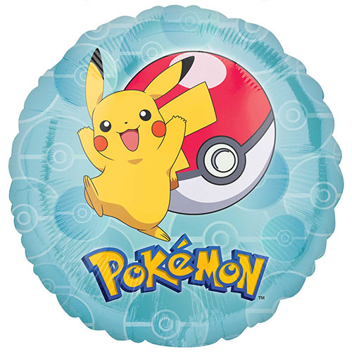 Pokemon Ronde Folie Heliumballon 43Cm / 17 In